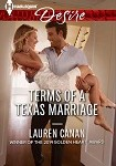 a cana terms of a texas marriage