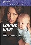 a snell loving baby