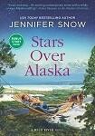 a snow stars over alaska